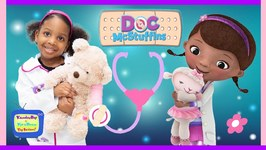 Doc Mcstuffins to the Rescue  Kyraboo Saves KB Bear with Magic
