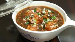 Paneer Manchurian Recipe -Restaurant Style Paneer Manchurian Gravy - Indo-Chinese Recipe -Ruchi
