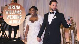 Vogue Releases Serena Williams' Wedding Photos