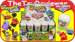 Full Case The Grossery Gang Bug Strike 28 Blind Bags Toilets Unboxing Toy Review