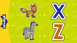 Letter X and Z - Phonics Songs - Animated Songs for Kids
