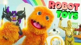 Best 10 Robot Toys For Kids 2017 - Big Robots Fighting Toys For Kids