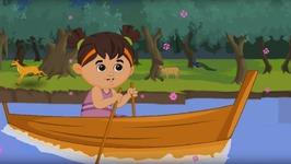 Row Row Row Your Boat - Nursery Rhyme For Children