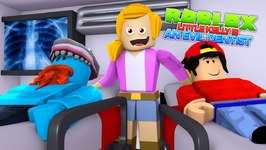 LITTLE KELLY IS THE EVIL DENTIST ! With Little Ropo - Sharky Gaming - Roblox