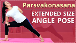 How To Do Extended Side Angle Pose Learn Parsvakonasana Yoga For Side Simple Yoga Lessons