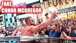 Fake Conor McGregor Pranks New York City