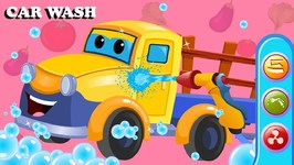 Vegetable Truck - Car Wash Video - Cartoons For Children by Kids Channel