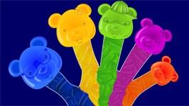 Finger Family - Candy Bear Finger Family - English Nursery Rhymes for Children