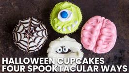 Halloween Cupcakes FOUR Spooktacular Ways