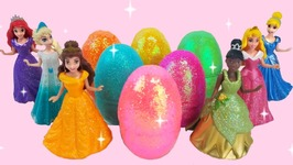 Play Doh Disney Princess Elsa Ice Cream Surprise Toys Learn Colors For Kids TV Surprise Eggs