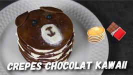 Recette Crepes Chocolat Kawaii Facile Et Rapide
