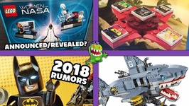 Lego Women of NASA Set Revealed Lego Batman 2018 Rumors And More - Brick Show News