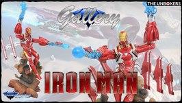Diamond Select Toys Avengers Infinity War Iron Man Mk 50 Gallery PVC diorama