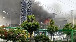 Dozens Feared Dead After Fire at Mall in Davao