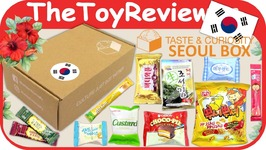 Taste And Curiosity South Korea Box The Seoul Set Subscription Box Unboxing Toy Review
