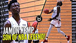 Son of NBA Legend Shawn Kemp Is NICE w/ the Rock, Jamon Kemp Droppin' Dimes And Windmillin' at Pangos