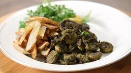 Cafreal / Mushroom Cafreal / Goan Delicacy / The Bombay Chef - Varun Inamdar