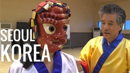 Seoul, South Korea - Mask Dance And Fan Dance