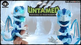Meet Freezer the Untamed Fingerlings Ice Dragon