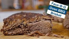 Faux-B-Q Brisket Oven Barbecue Brisket