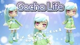 ItsCrystal Snow Gacha Life GachaTuber Equestria Girls Custom Pony
