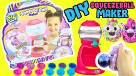 Pikmi Pops Surprise Bubble Drops Squeeze Ball Maker! DIY Unicorn and Pegasus