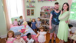 Couple Live With 200 Plastic Children - Truly