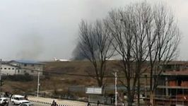 Timelapse Shows Crash Scene at Kathmandu International Airport