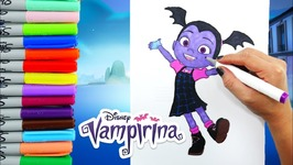 Disney Vampirina Coloring Book Pages For Kids
