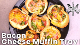 Bacon - Cheese Muffin Tray Pies