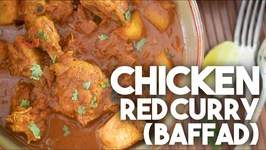 Chicken Red Curry Baffad
