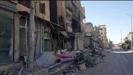 Destruction in Streets of Raqqa After SDF Victory