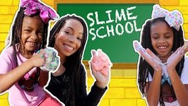 Fixing Old Slimes at Slime School - New Toy School