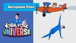 Aeroplane Pose - Yoga Pose Universe