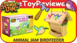 Animal Jam Birdfeeder Spring 2017 Subscription Box Bird Feeder Unboxing