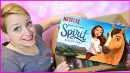 Spirit Riding Free HUGE Surprise Box Filled with Dolls and Horses!