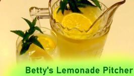 Betty's Lemonade Pitcher