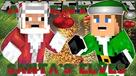 Minecraft Christmas - Little Donny - VACATION TO SANTA & HIS ELVES w/ DONUT
