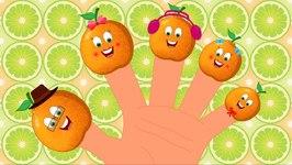Finger Family - Orange Finger Family - Kindergarten Nursery Rhymes For Toddlers - Kids Tv Shows