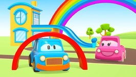 Clever Cars for Kids Learn Colors of the Rainbow- A Toddler Learning Video for Kids - Colors for Kids