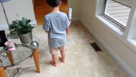 Big Brother Helps Adorable Sister Learn How to Walk
