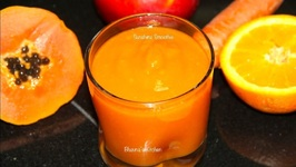 Sunshine Smoothie - Mango Papaya Carrot Smoothie