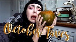 My Month Of October And Favourites And Try Ons