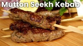 Mutton Seekh Kebab - Kebabs on Skewers - Easy Recipe - The Bombay Chef- Varun Inamdar