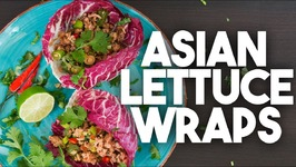 ASIAN Lettuce Wraps - Easy Weeknight Meal