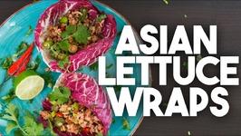 ASIAN Lettuce Wraps - Easy Weeknight Meal
