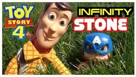 Toy Story 4 Infinity Stone Doritos Snap - Captain America - Woody
