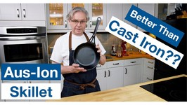 Solidteknics Aus-Ion Wrought Iron Pan Unboxing, Seasoning And Review