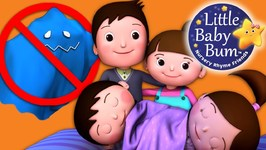 Monsters Song For Children - No Monsters Who Live In Our Home - Nursery Rhymes