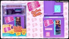 Boxy Girls NEW Peek A Box set Unboxing